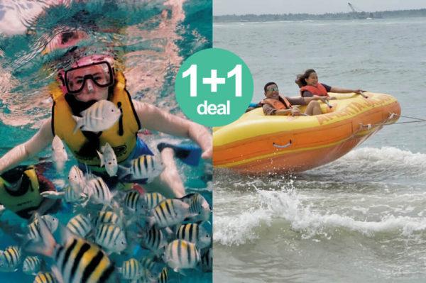 Snorkeling + Donut Tube