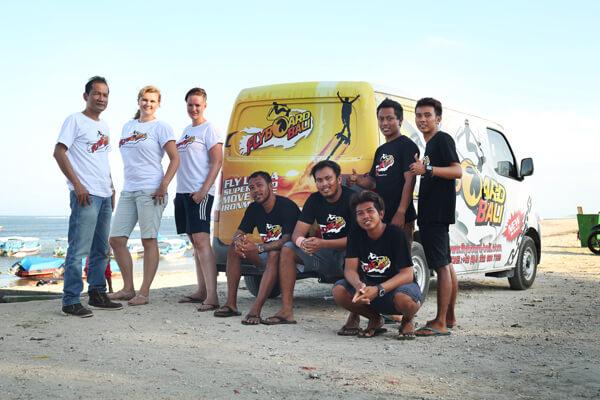 Flyboard-Bali-Team